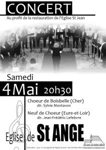 Concert St Ange